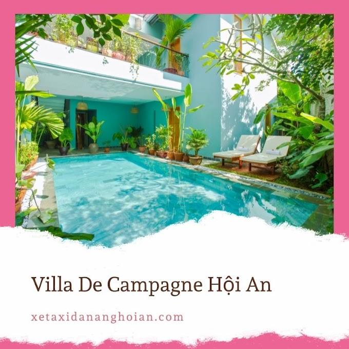 [Khách sạn Hội An] Villa De Campagne
