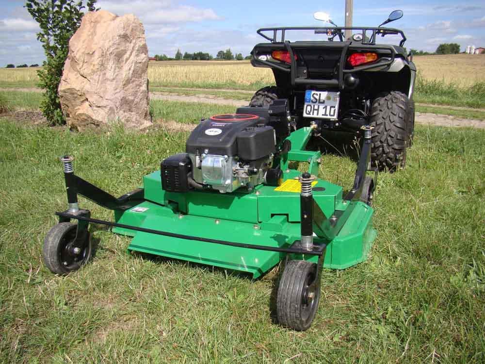 FarmerHelper: ATV finishing mower DMH120