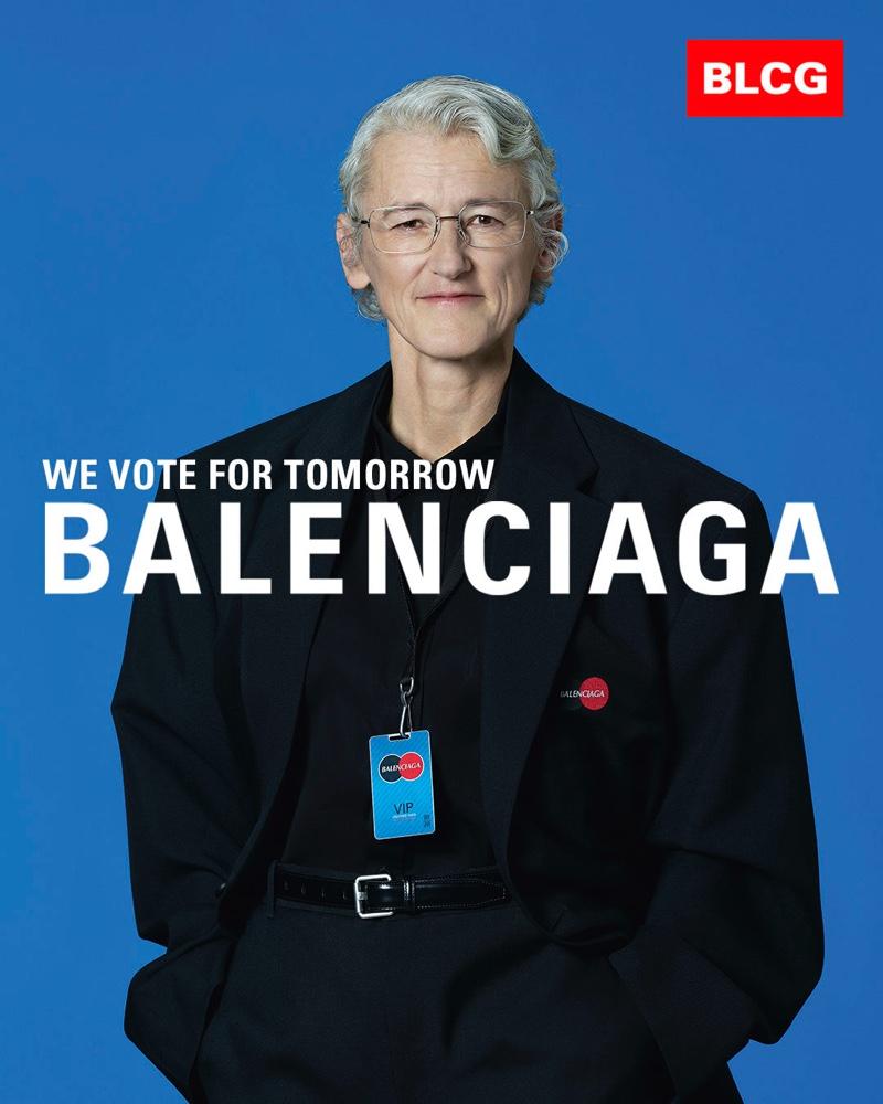 Neda Brady stars in Balenciaga spring-summer 2020 campaign