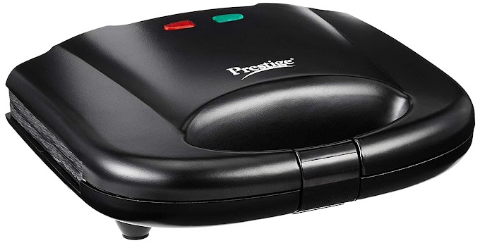 Prestige PGMFB 800 Watt Grill Sandwich Toaster with Fixed Grill Plates  Prime Time Offer Grab Fast RS  : 1091 SAVE : 27%