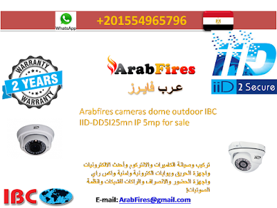 Arabfires cameras dome outdoor IBC IID-DD5I25mn IP 5mp for sale