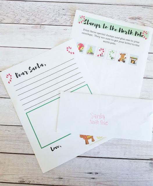 blank santa letter template