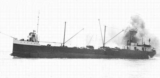 Canadian freighter Troisdoc, sunk on 21 May 1942 worldwartwo.filminspector.com