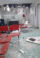 Agências de banco e dos Correios são explodidas por bandidos na PB