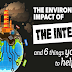 The Environmental Impact of the Internet #infographic