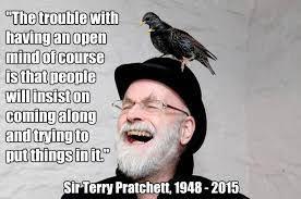 Meme sobre Terry Pratchett