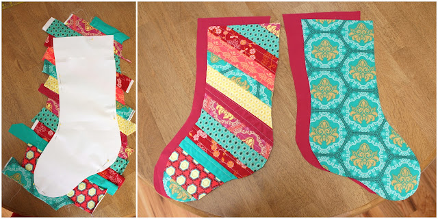 Christmas Stocking Tutorial Diary Of A Quilter A Quilt
