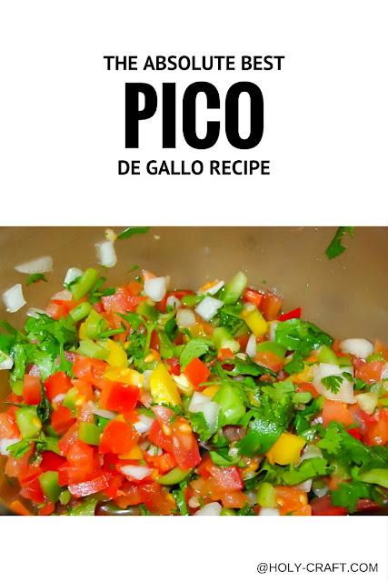 the best pico de gallo recipe