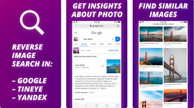 افضل تطبيق للعثور على الصور ذات الصلة لمستخدمي ايفون وايباد