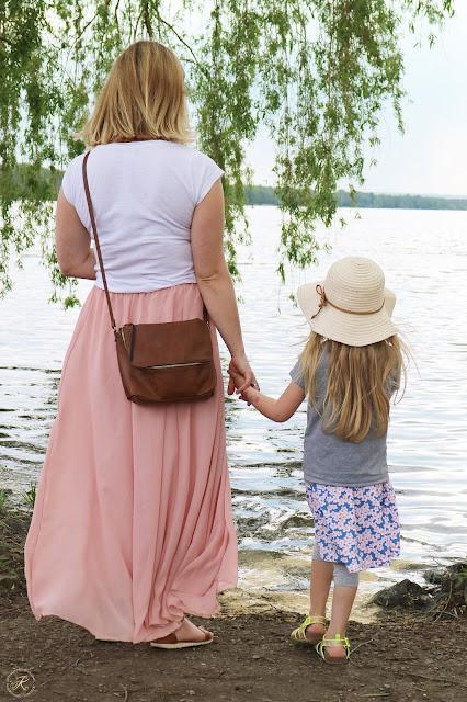 Mama und Motti am Steinhuder Meer