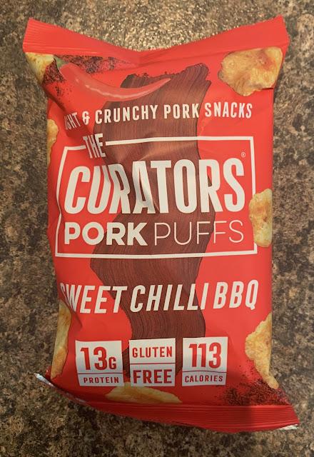 The Curators Pork Puffs Sweet Chilli BBQ