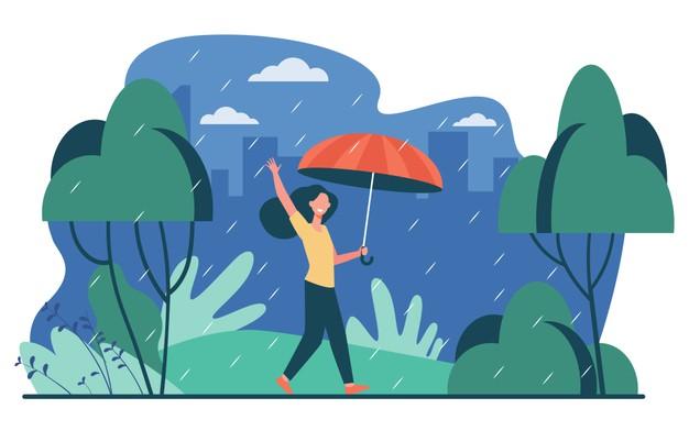 Contoh Teks Eksplanasi (Fenomena Alam) : Proses Panjang Terjadinya Hujan