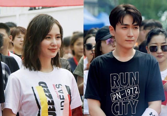 liu shishi zhu yilong filming ceremony