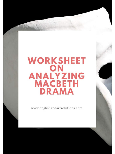 Worksheet on Analyzing Macbeth Drama