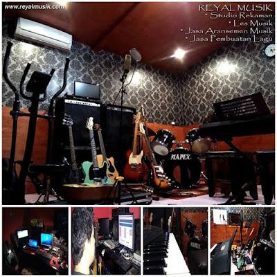 studio rekaman jakarta timur, kursus les musik jakarta timur, terbaik murah