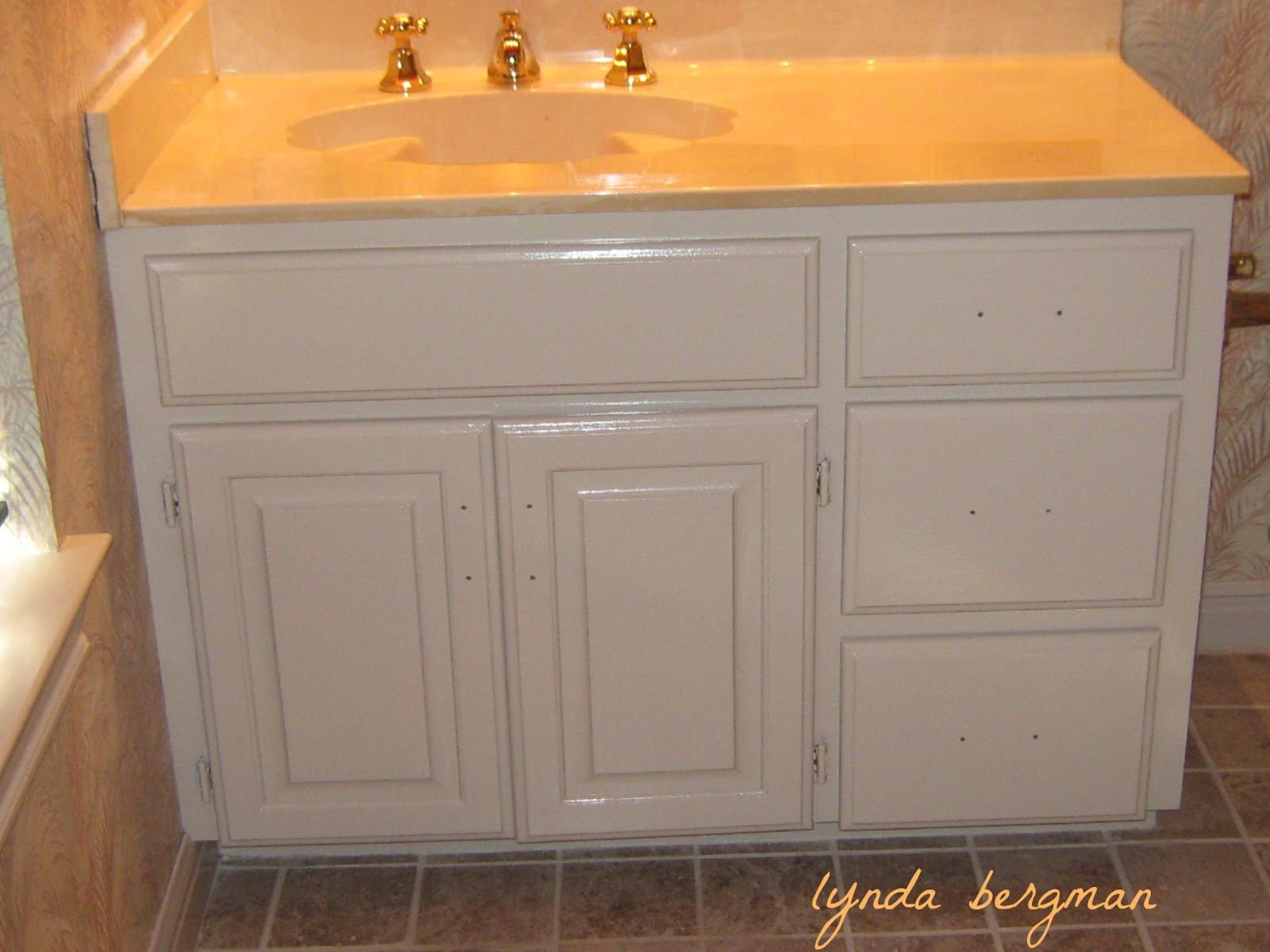 staining bathroom cabinets lynda bergman decorative artisan gayle s guest bath from 26580