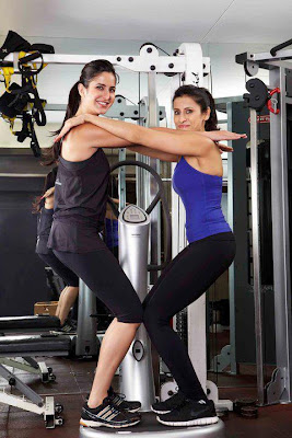 Katrina Kaif Spotted at Gym With her Fitness trainer Yasmin Karachiwala