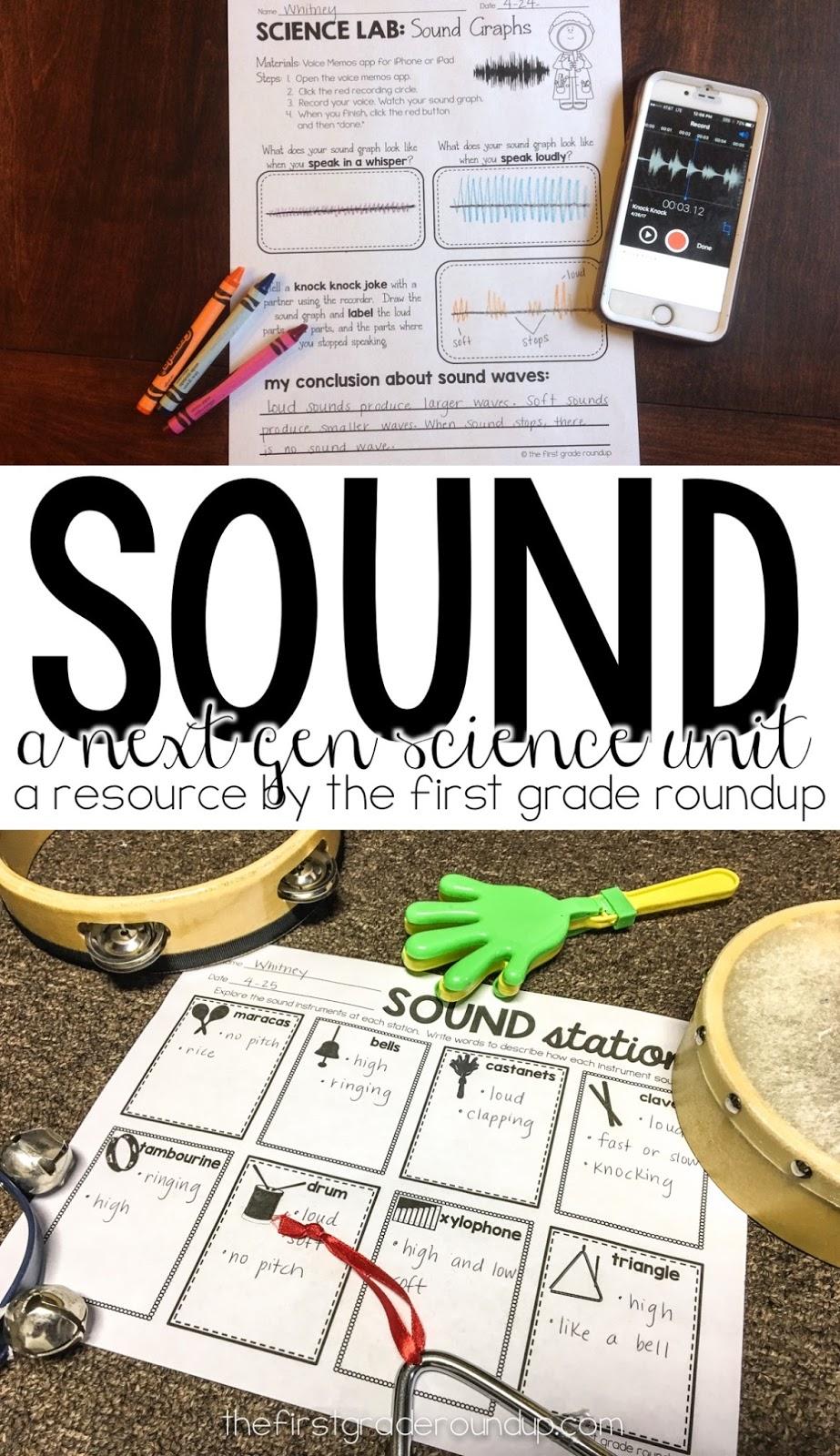 Sound Unit for 1st Grade - Firstgraderoundup