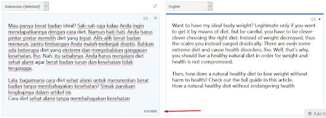 Translate artikel untuk membuat blog bule gratis