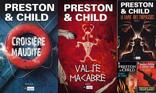 22 romans de Preston et child