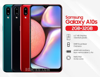 Firmware dan Cara Flash Samsung A10s SM-A107F