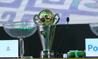 CAF CHAMPIONS LEGUE GROUP STAGE DRAWS The draws for the group stages of the 2019/2020 CAF confederations cup took place today at CAF headquarters in Cairo, Egypt.  Out of the 53 teams who participated in the preliminary round, only 16 teams made it to the group stages. Raangers international who qualified for the group stagesn after beating ASC Kara on away goal has been drawn against FC Nouadhibou of Mauritania, Pyramids FC and Al-Masry of Egypt in Group A of the cup. The second team representing Nigeria, Enyimba of Aba has been drawn in group D with FC San pedro of Ivory Coast, Hassania Agadir of Morocco and finally. Paradou FC of Algeria.  The Group stages would take place from 29th Novernmber to 8 m,arch. After which the 8 teams that would proceed to the quarter finals would be known. See the full draws below