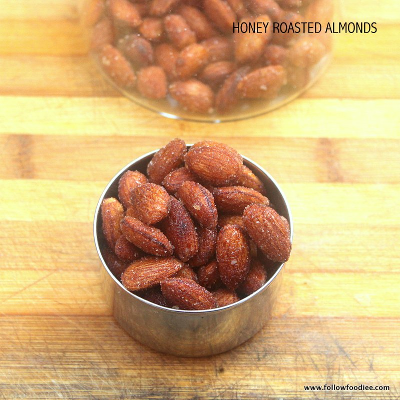 HONEY ROASTED ALMONDS RECIPE