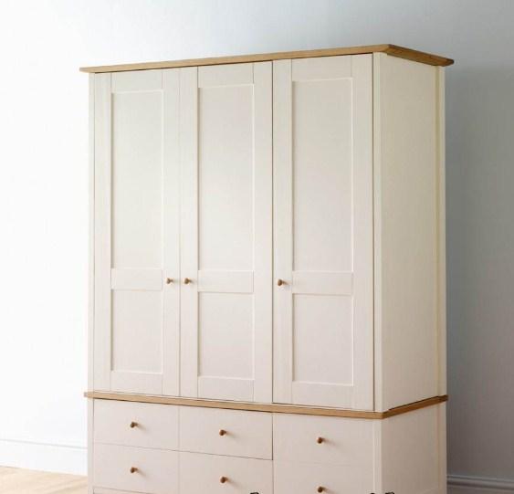 model lemari pakaian minimalis 3 pintu 2015
