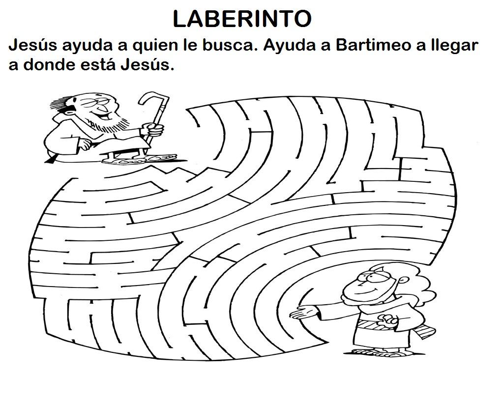 Materiales De Religion Catolica El Ciego Bartimeo