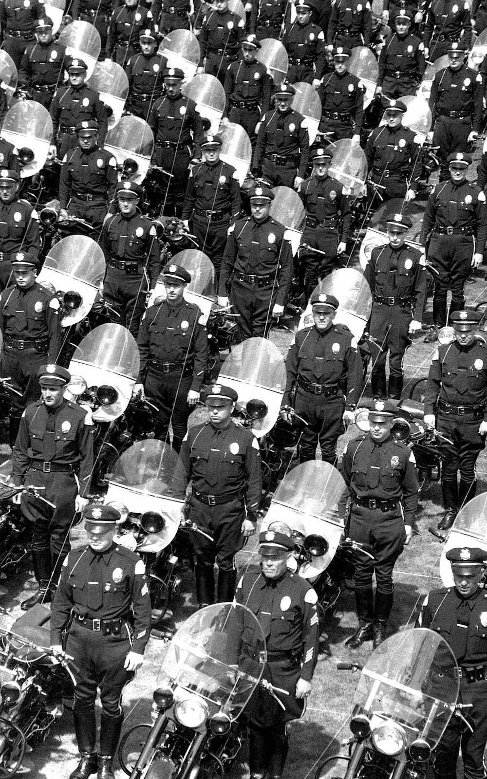 motorcycle police photograph USA