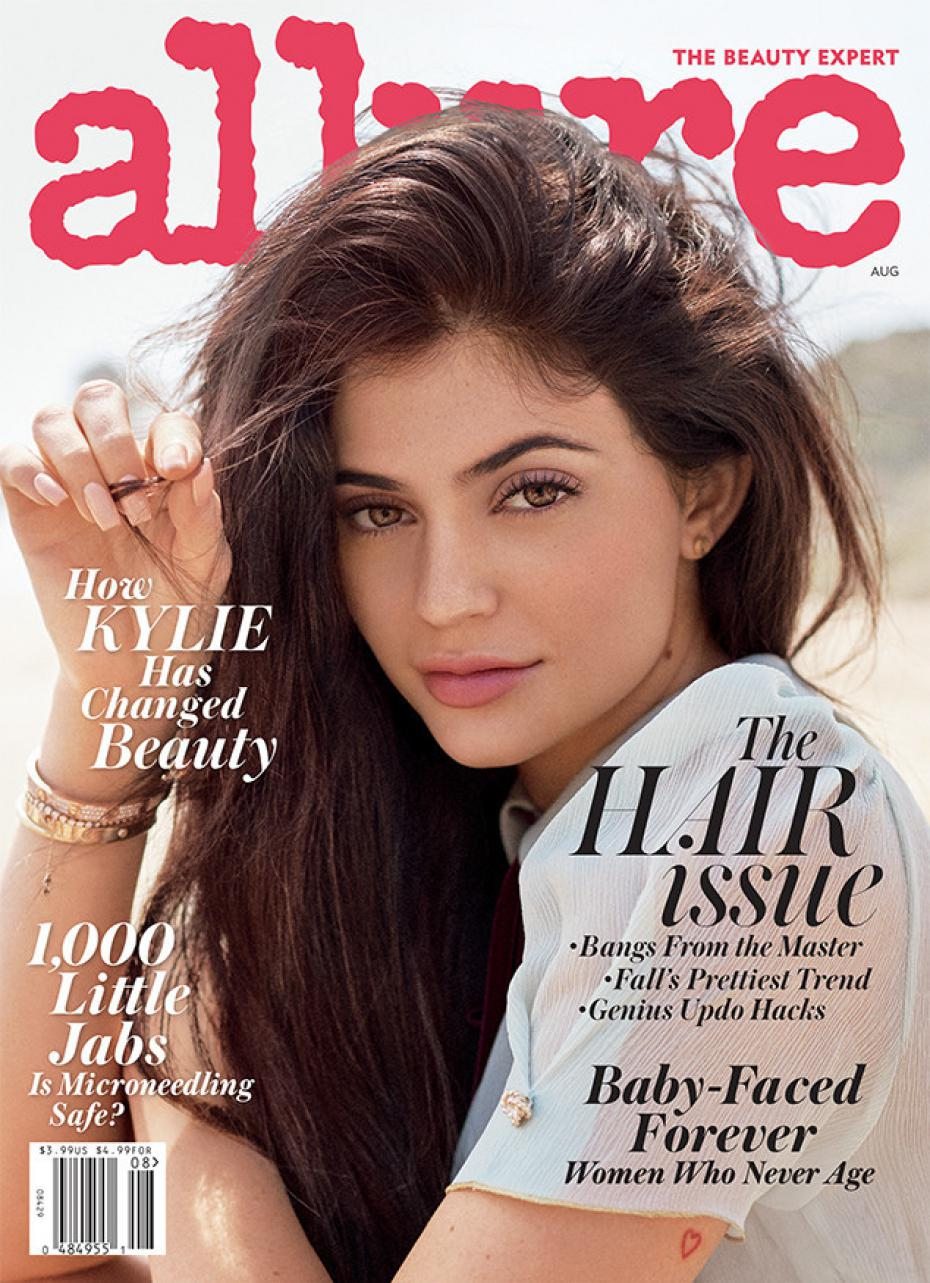 Kylie Jenner covers Allure Magazine August 2016