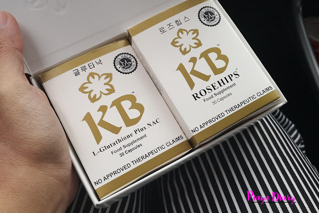 KB GLUTATHIONE WITH  NAC and ROSEHIPS