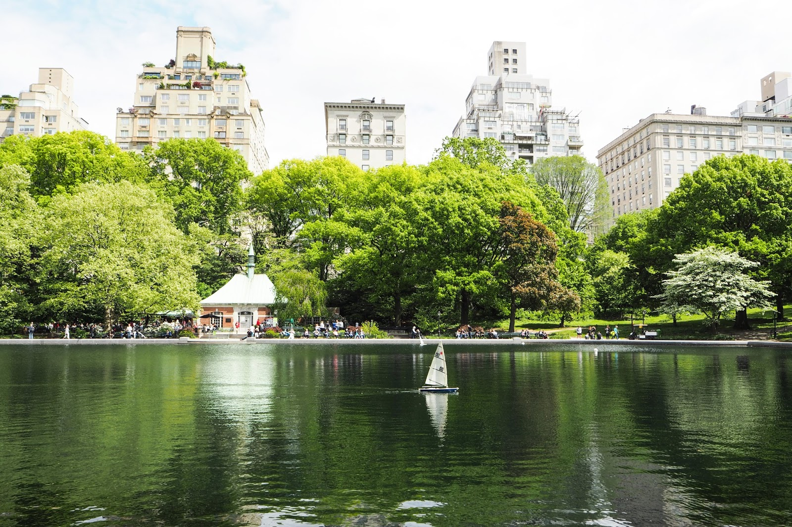 Boating Pond in Central Park