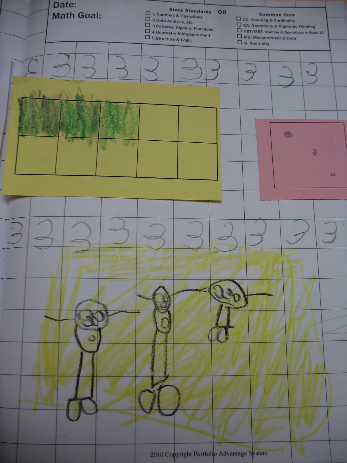 Tales From A Traveling Teacher Math Portfolio Ideas