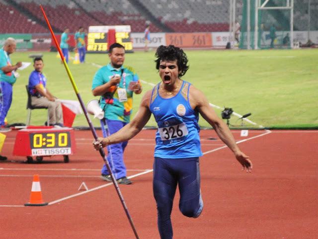 Neeraj Chopda won Gold in Tokyo Olympic 2020