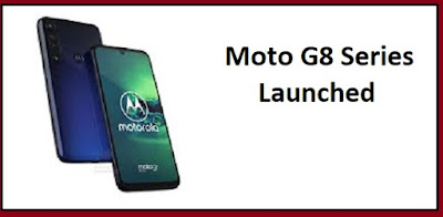Moto G8 Launched | Features, Price |