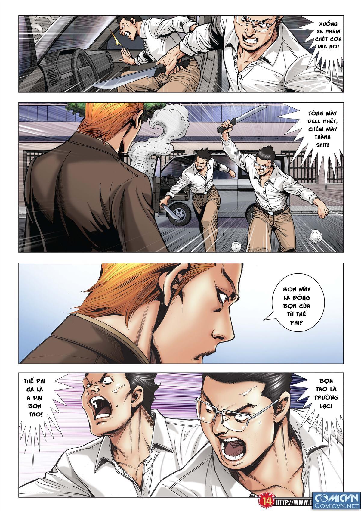 Người Trong Giang Hồ chapter 1997: triệu oánh vs đinh dao trang 12