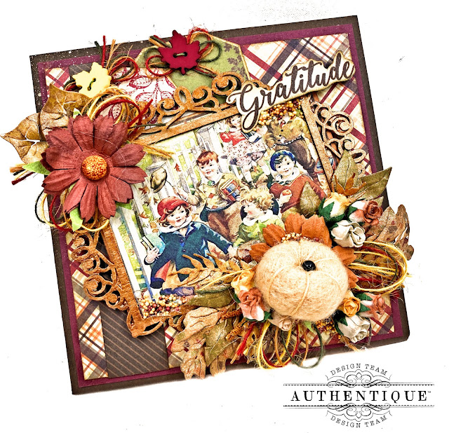 Authentique November Calendar Photo Folio by Kathy Clement Kathy by Design Photo 01
