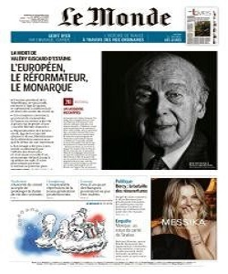 Le Monde Magazine 4 December 2020 | Le Monde News | Free PDF Download