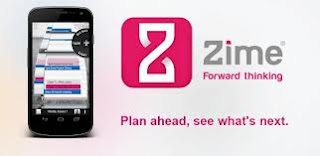 Zime beta – to do + calendar app for android
