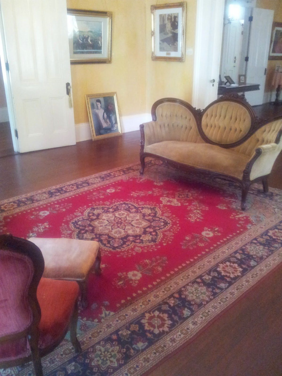 Sitting room, Degas House, New Orleans
