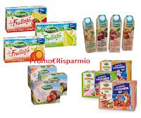 Logo Valfrutta buoni sconto da stampare Succhi di frutta, Triangolini, Frullatò e Veggie