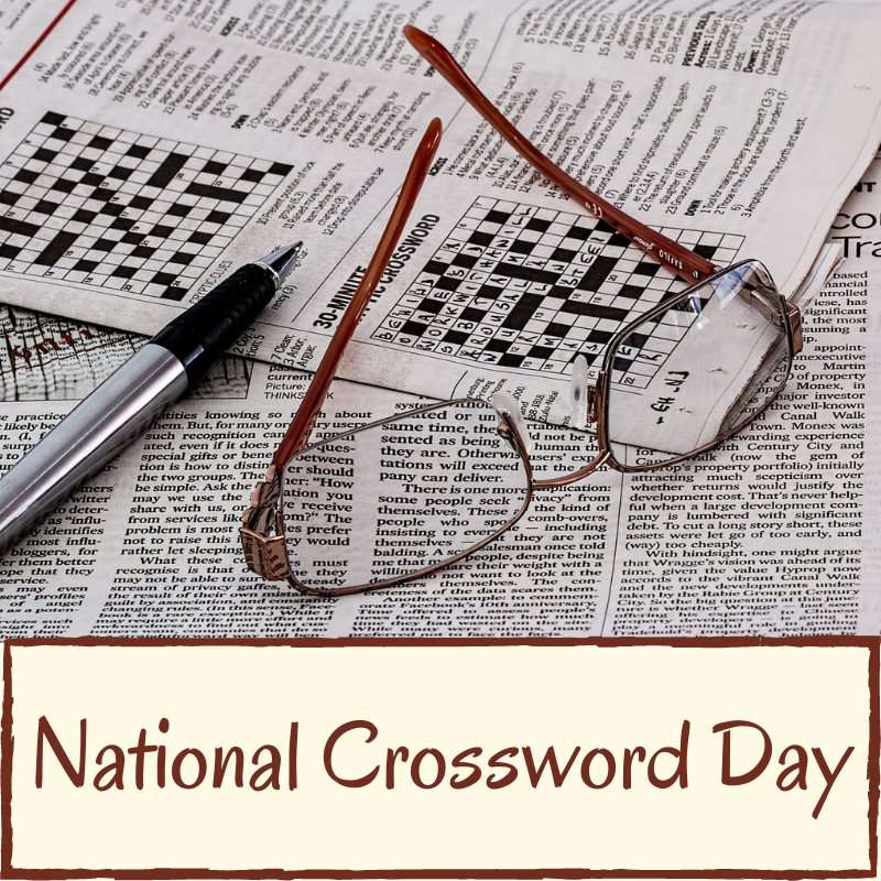 National Crossword Puzzle Day Wishes Awesome Images, Pictures, Photos, Wallpapers