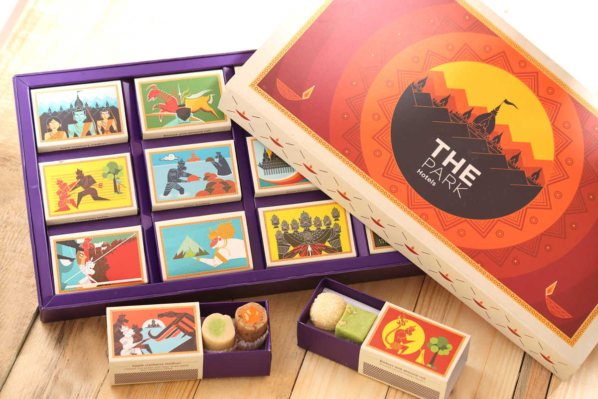 The Park Hotels Diwali Gift Hamper On Packaging Of The