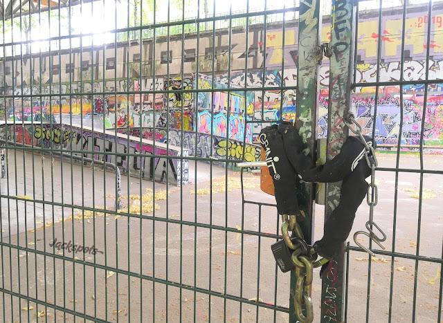 Bercy skatepark 2020 fermé