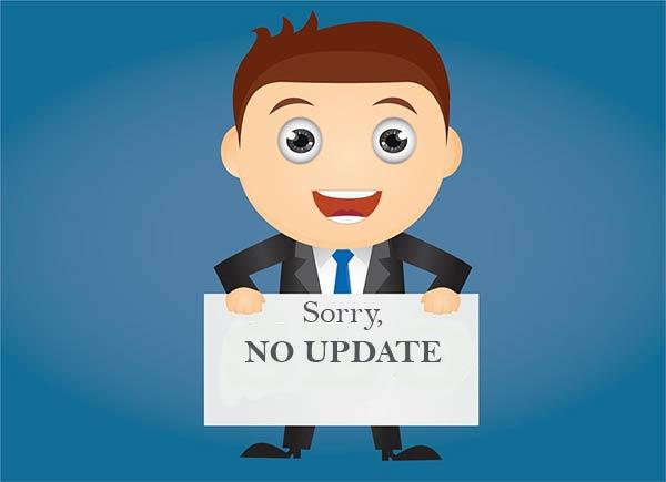 Tidak Update Blog