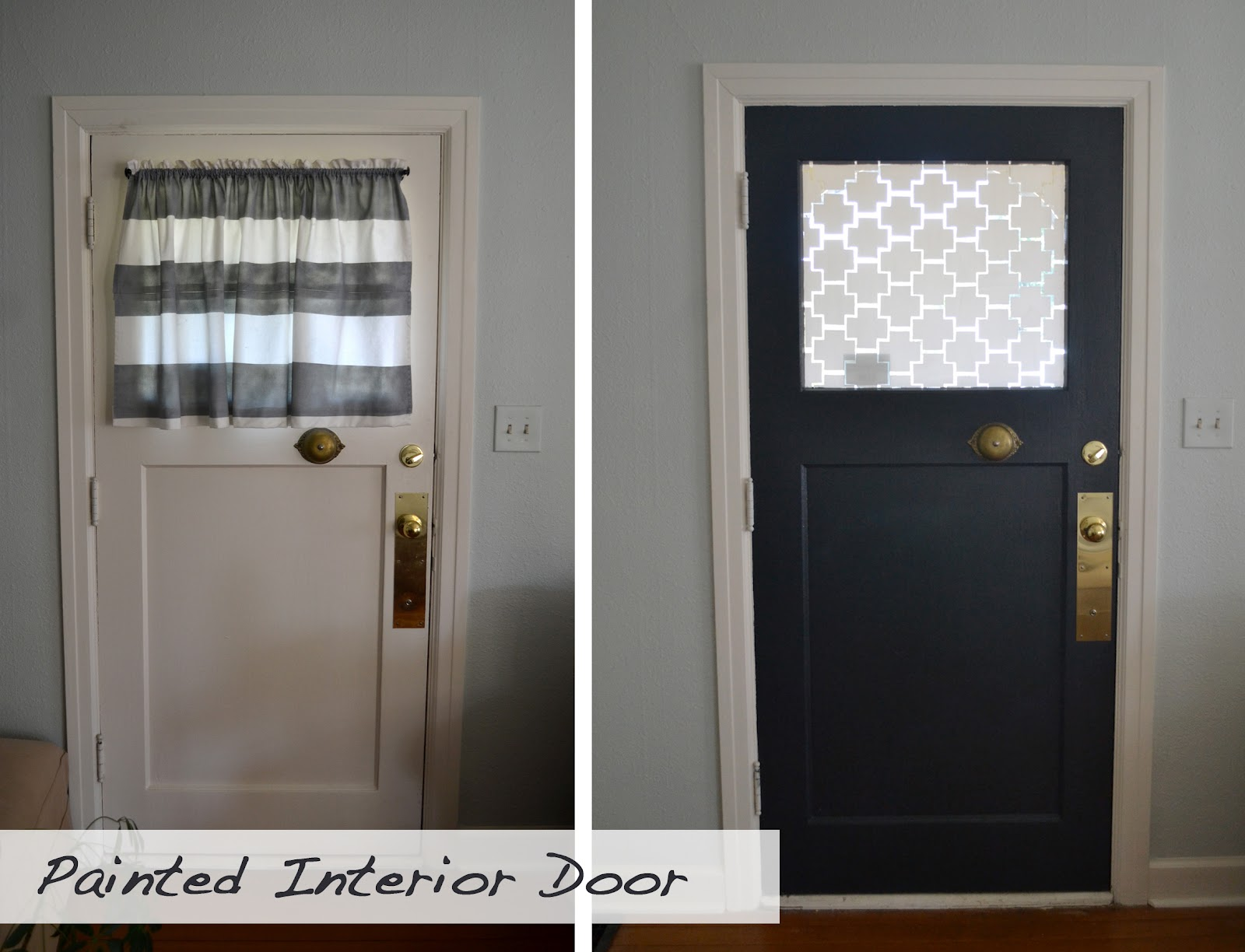 a home in the making: {renovate} front door decorative