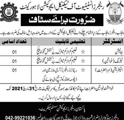 Latest-Rangers-Jobs-2021-in-Pakistan-Rangers-New-Jobs-2021
