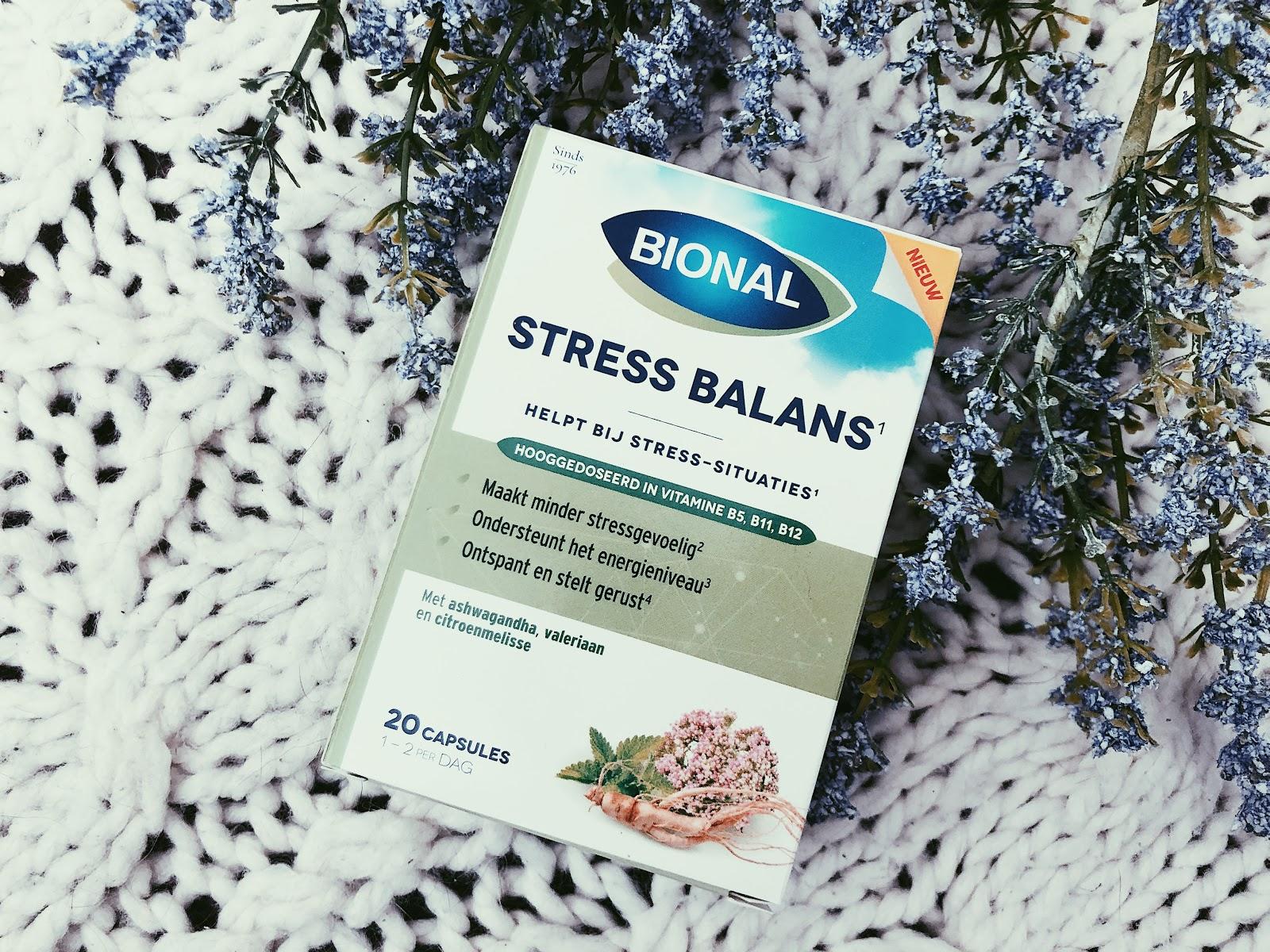Pieker en stress momenten de baas met Bional Stress Balans