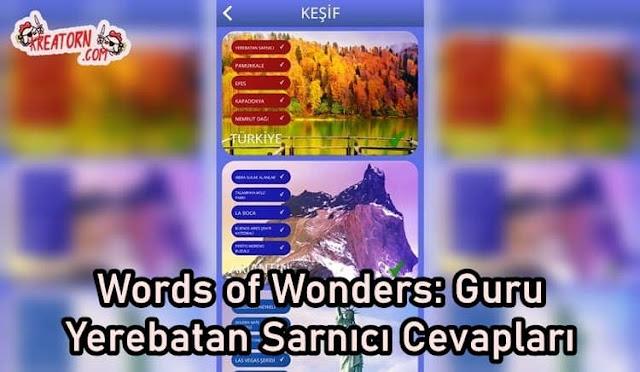 Words of Wonders: Guru Yerebatan Sarnıcı Cevapları